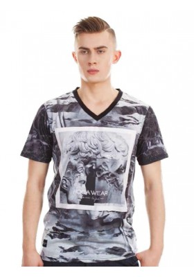 RocaWear DOUBLE MARBLE T